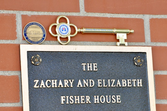 Fisher Houe Plaque